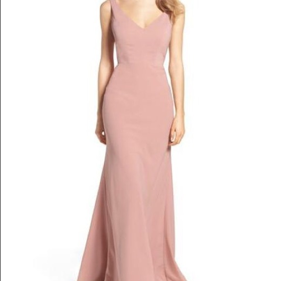 59878d57cef Jenny Yoo Delaney Dress in Whipped Apricot (Blush)